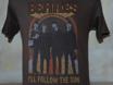 "Picture of Beatles T-Shirt: Junk Food Men's Brown ""I'll Follow the Sun"""