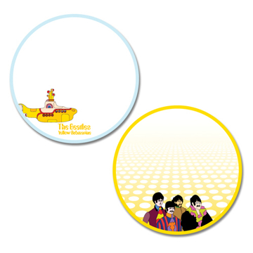 Picture of Beatles STICKERS: Shaped Sticky Note Set