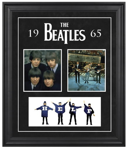 "Picture of Beatles ART: The Beatles ""1965"" framed presentation"