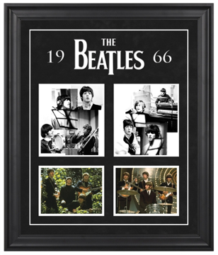 "Picture of Beatles ART: The Beatles ""1966"" framed presentation"