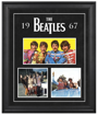 "Picture of Beatles ART: The Beatles ""1967"" framed presentation"