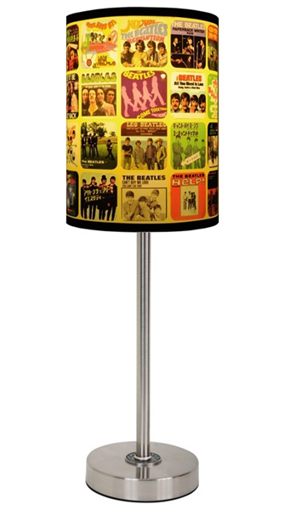 Picture of Beatles Lamp Shades: Singles Covers Lamp