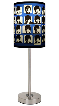 Picture of Beatles Lamp Shades: Hard Days Night Cover Lamp