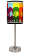 Picture of Beatles Lamp Shades: Beatles Color Faces