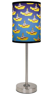 Picture of Beatles Lamp Shades: Yellow Sub Cover Lamp