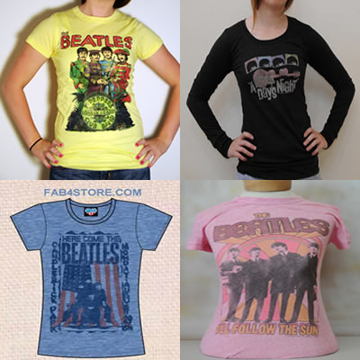 "Picture of Beatles T-Shirt: ""Lucky Dip"" Jrs/Ladies Clearance"