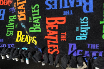 Picture of Beatles Hand Made Blanket