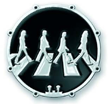 "Picture of Beatles Pins: ""Drum"" Abbey Road"