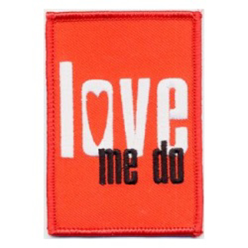 Picture of Beatles Patches:Beatles Love me do