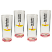 """Picture of Beatles Drink-Ware: """"Yellow Submarine"""" 4 pc. 10 oz. Glasses Set"""