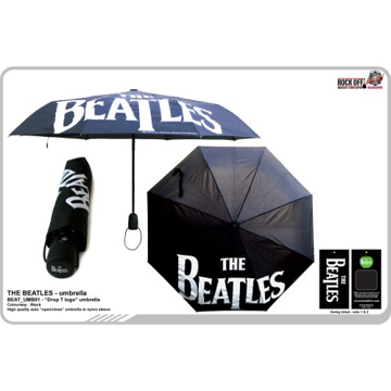 Picture of Beatles Umbrella: The Beatles Umbrella in Black