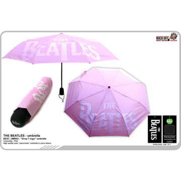 Picture of Beatles Umbrella: Drop T Umbrella in Pink
