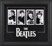 "Picture of Beatles ART: The Beatles ""Four Faces"" framed presentation"
