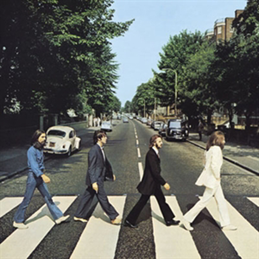 Picture of Beatles Magnets: The Beatles Many Styles MAG-Abbey Road