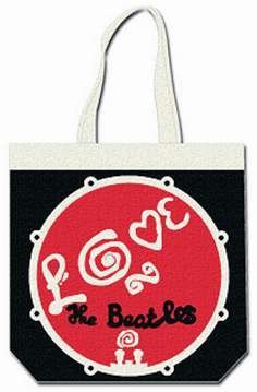 Picture of Beatles Tote Bags: The Beatles Canvas Zip Totes TOTE: The Beatles - Love