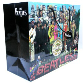 Picture of Beatles Gift Bags: The Beatles 3 Styles  GIFT Bag: The Beatles - Sgt Pepper