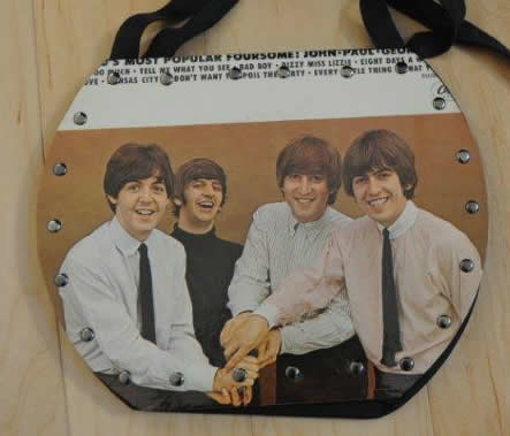 Picture of Beatles Original Record Purse/Bag:The Beatles - V1