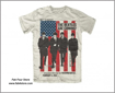 Picture of Beatles T-Shirt: Beatles DC 1964 (Stars & Stripes