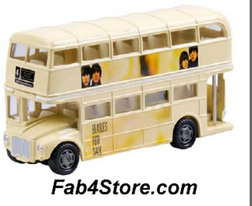 """Picture of Beatles Toy: """"Beatles For Sale"""" Dbl Decker Bus"""