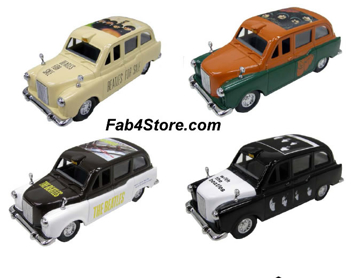 Picture of Beatles Toy: London Taxi's Set of Four