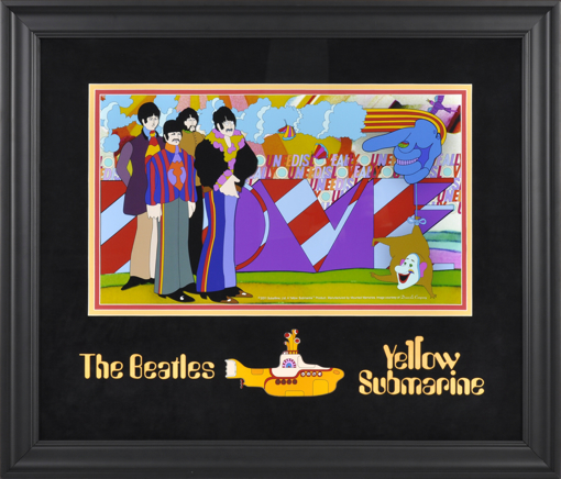 "Picture of Beatles ART: The Beatles ""YELLOW SUBMARINE"""