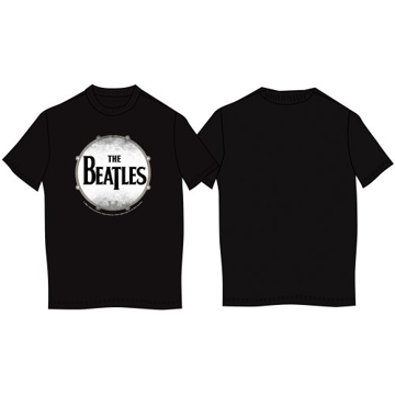 """Picture of Beatles T-Shirt: The Beatles """"Drumskin"""" UK IMPORT"""