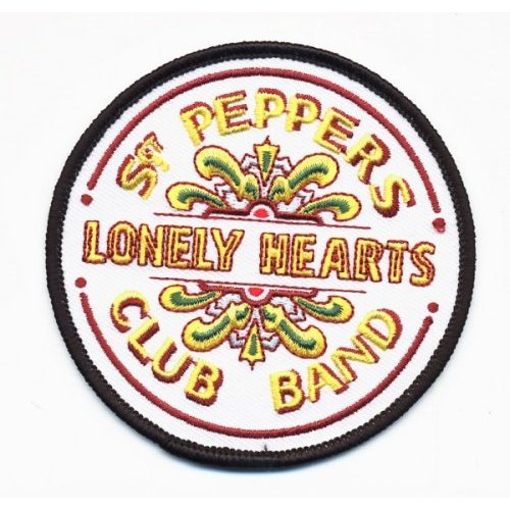 Picture of Beatles Patches: Sgt. Pepper Drum (Woven Print)