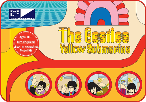 Picture of Beatles Model Kit: The Beatles Yellow Submarine Model Kit