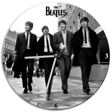 Picture of Beatles Clock: The Beatles 1963 Wall Clock
