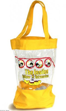 Picture of Beatles Bag: Yellow Submarine Beach Bag