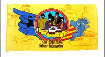 Picture of Beatles Towel: Massive Yellow Submarine Towel
