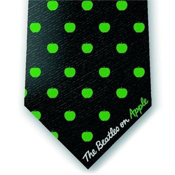 Picture of Beatles Tie: Apple Dots Silk Tie