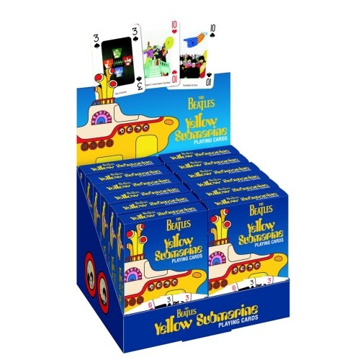 Picture of Beatles Playing Cards: Yellow Submarine