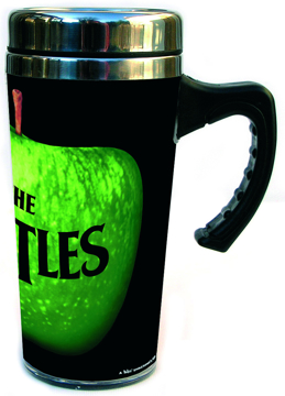 Picture of Beatles Mug: The Beatles Apple Travel Mug
