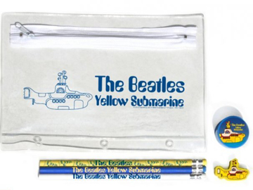 Picture of Beatles Pencil Case: The Beatles Yellow Sub Pencil Set