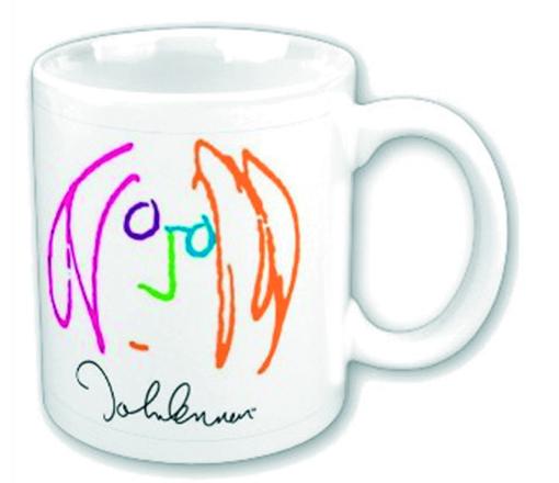 Picture of Beatles Mugs: John Lennon Self Portrait Mug
