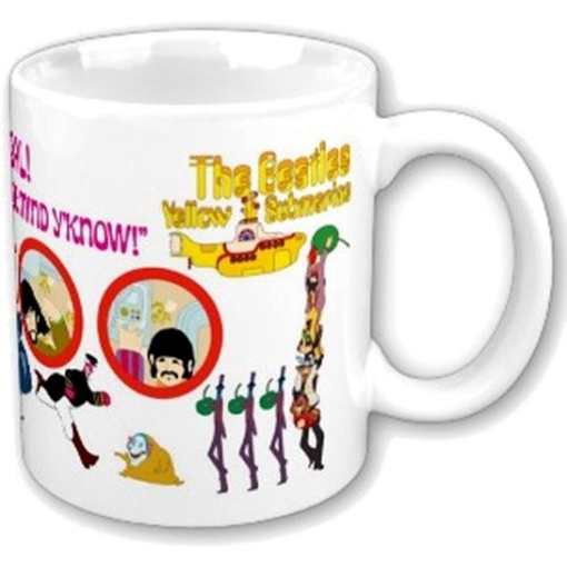 Picture of Beatles Mugs: Yellow Sub Mug