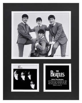 Picture of Beatles Photographs: The Beatles 11x14 Matted Photo Collection The Beatles Matted Photo Collection 1963