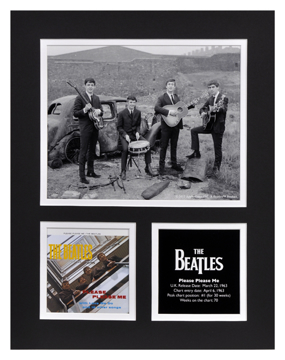 Picture of Beatles Photographs: The Beatles 11x14 Matted Photo Collection