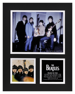 Picture of Beatles Photographs: The Beatles 11x14 Matted Photo Collection The Beatles Matted Photo Collection 1964