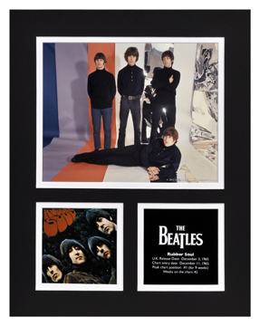 Picture of Beatles Photographs: The Beatles 11x14 Matted Photo Collection The Beatles Matted Photo Collection 1965