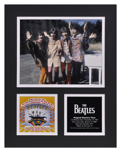 Picture of Beatles Photographs: The Beatles Magical Mystery Tour 11x14 Matted Photo Collection The Beatles Matted Photo Collection 1968
