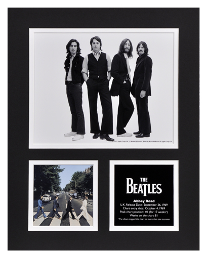 Picture of Beatles Photographs: The Beatles Abbey Road 11x14 Matted Photo Collection The Beatles Matted Photo Collection 1969