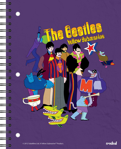 Picture of Beatles Notebook: The Beatles Yellow Submarine (11 x 8.5)