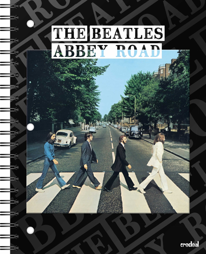 Picture of Beatles Notebook: The Beatles Abbey Road (11 x 8.5)