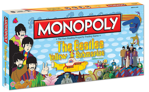 Picture of Beatles Game: Yellow Submarine Monopoly Game