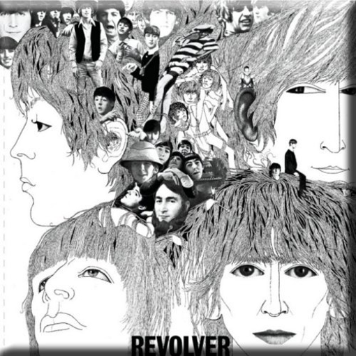 Picture of Beatles Magnets: The Beatles Many Styles MAG-Revolver Magnet
