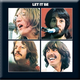 Picture of Beatles Magnets: The Beatles Many Styles MAG-Let It Be