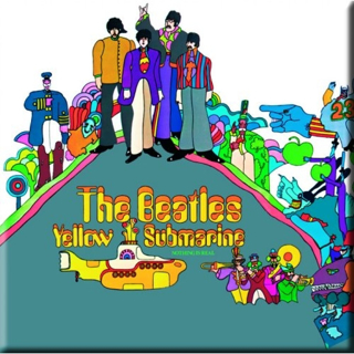 Picture of Beatles Magnets: The Beatles Many Styles MAG-Yellow Submarine Album