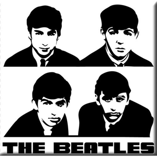 Picture of Beatles Magnets: The Beatles Many Styles MAG-The Beatles Portrait Magnet
